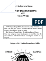 Seventy Dissolutions on the Path