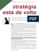 A estratégia está de volta (HSM-2006)