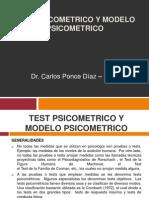 Test Psicometrico y Modelo Psicometrico