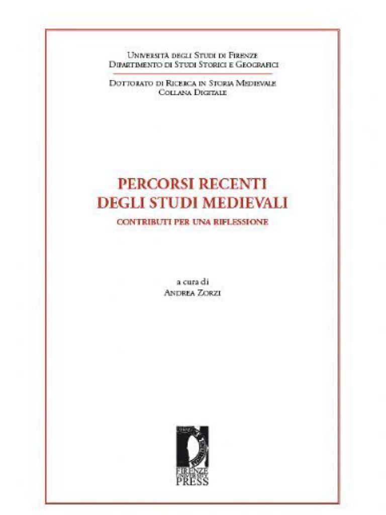 Zorzi percorsi recenti di studi medievali fandeluxe Images