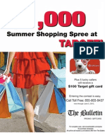 "The Bulletin's ""Great Prize Giveaway"" Phone-In Sweepstakes"