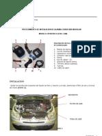 M37239-00 Manual de Instalacion Alarma CITROEN C4 Full Can 3860 Modular