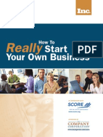 How to (Really) Start Your Own Business Workbook