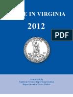 Crime in Virginia 2012