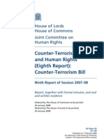 Counter-Terrorism Policy