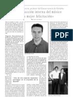 Jesús Rodríguez Azorín, profesor del Conservatorio de Córdoba