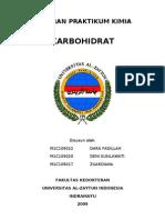 Laporan Praktikum Kimia_karbohidrat