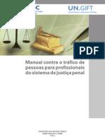 Manual contra o tráfico de pessoas para profissionais do sistema de justiça penal - 1