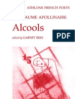 Guillaume Apollinaire-Alcools (Athlone French Poets) (French Edition)(2001)