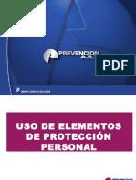 ELEMENTOS DE PROTECCIÓN PERSONAL