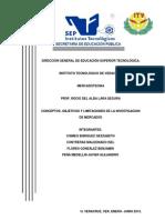 Eq1 - Conceptos, Objetivos y Limitaciones de La Investigacion