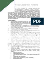MCA Document