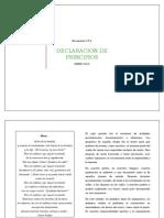 Declaracion de Principios Izquierda Regionalista Autonoma. Completo.