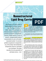 Nanostructure Lipid Drug Carriers (NLC)-Germany