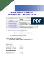 Informe Diario Onemi Magallanes 21.05.2013