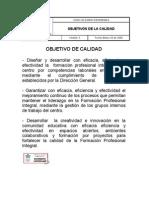 OC-02 OBJETIVOS DE CALIDAD V3