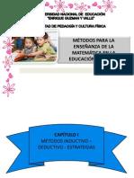 MÉTODOS PARA LA ENSEÑANZA DE LA MATEMÁTICA EN LA EDUCACIÓN PRIMARIA