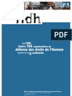 FIDH - 2012 - Rapport Annuel