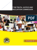 TJRC Report Volume 1