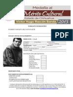 Formato Registro Medalla Vhrb