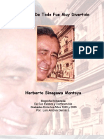 Biografía  de Herberto Sinagawa Montoya