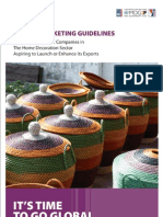 EXPORT MARKETING GUIDELINES a Practical Guide for Companies in the Home Decoration and Home Textlie Sector