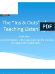 Teaching Listening May
