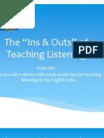 Teaching Listening May