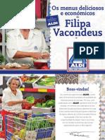 Livro Receitas Filipa Vacondeus
