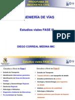 Conjunto Estudios Viales Fase III