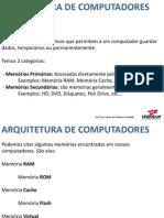 13 03 18 Aula 5 Arquitetura de Computadores Memorias
