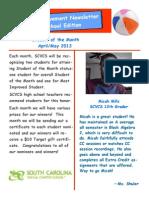 SOM Newsletter April_May2013 Blog