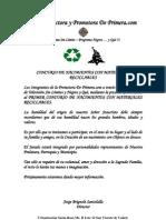 Nota de Prensa Concurso de Nacimientos Con Materiales Reciclables
