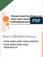 Proses Adaptasi Psikologi Wanita