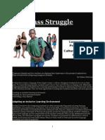 Language Issue 1The Class Struggle