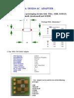 Adapter  board for prototyping  with  SMA , SMB, SOD123, SOD123F, 1206, Minimelf, Quadromelf and SOD80