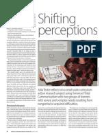 Shifting perceptions