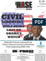 In Phase News May 1, 2013 Issue 1, Vol. 1