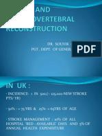 Stroke and Cerebrovertebral Reconstruction