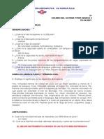 Examen Del Sistema Piper Seneca Libro Cerrado