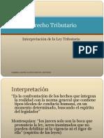 INTERPRETACION TRIBUTARIA