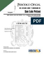 Reglamento Interior de La Secretaria de Finanzas