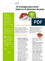 Consejos Descenso Peso Obesidad Nutricoach