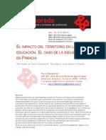 Impacto Territorio Educacion Cfrancia