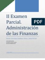 II Examen Parcial
