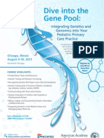 Dive Into the Gene Pool_2013 Brochure_final