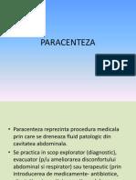 lp3 - PARACENTEZA