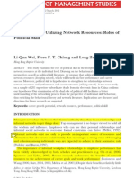 Developing and Utilizing Network Resources