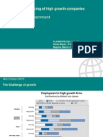 Private Equity Financing of High Growth Companies[1]