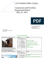 Document #9C.1 - Capital Projects and Facilities Management Report